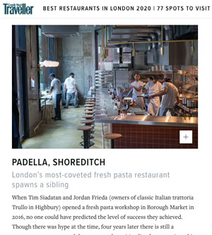 Padella Shoreditch