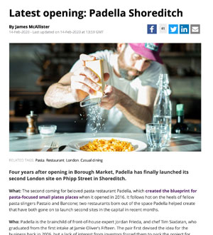 Review of Padella Shoreditch
